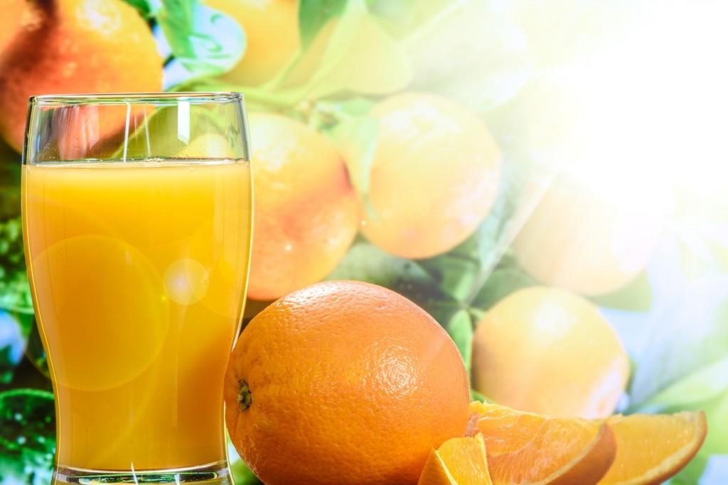 Jugo naranjas. Fruvesur